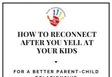 How To Reconnect After You Yell At Your Kids